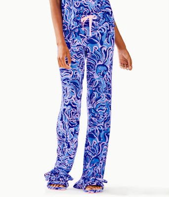 """30"""" Pj Knit Pant, Coastal Blue Whispurr, large 0"""