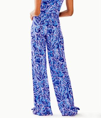"""30"""" Pj Knit Pant, Coastal Blue Whispurr, large 1"""