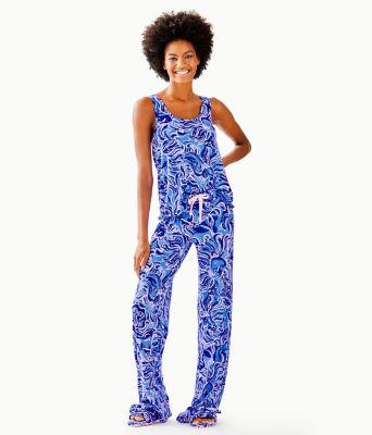 """30"""" Pj Knit Pant, Coastal Blue Whispurr, large 3"""