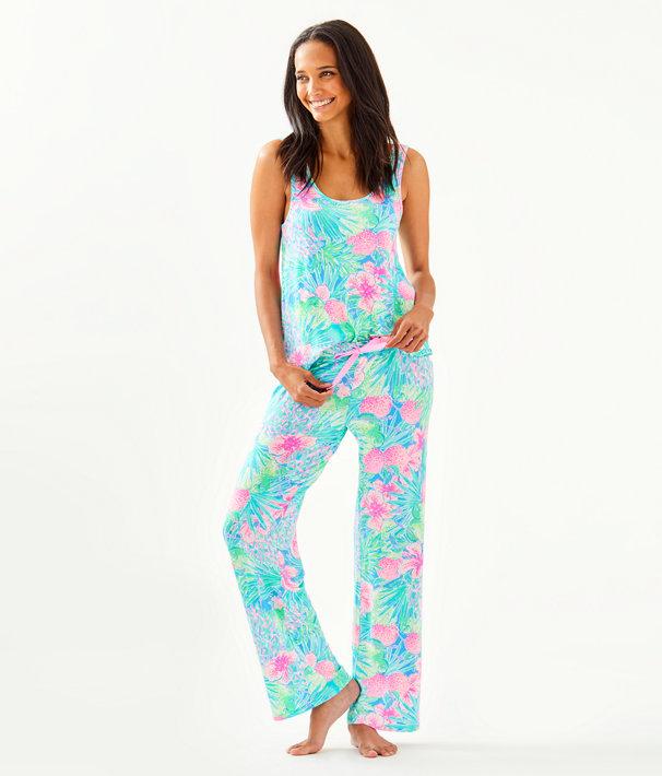 "30"" Pj Knit Pant, Multi Swizzle In Reduced, large"