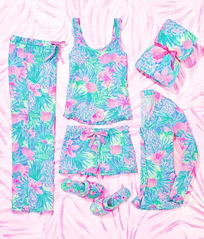 "30"" Pj Knit Pant, Multi Swizzle In Reduced, large 5"