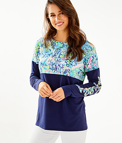 Finn Top, Multi Lillys House, large 0