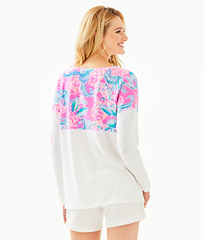 Finn Top, Prosecco Pink Pinking Positive, large 1