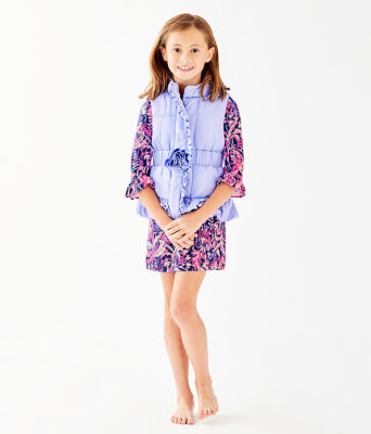 Girls Caylee Vest, , large