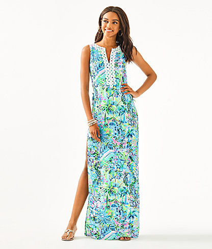 Donna Maxi Romper, Multi Lillys House, large 0