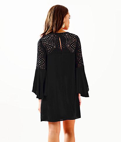 Amenna Dress, Onyx, large 1