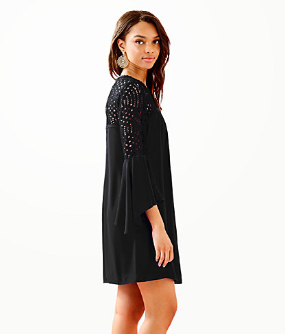 Amenna Dress, Onyx, large 2