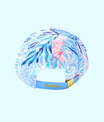 Run Around Hat, Crew Blue Tint Kaleidoscope Coral Accessories Small, large 1