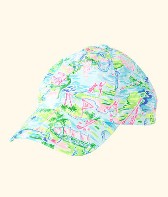 Run Around Hat, Multi Honda Classic Toile Small, large