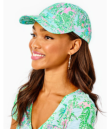 Run Around Hat, Multi Lilly Loves Palm Beach Small, large 0