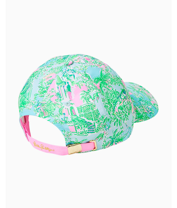 Run Around Hat, Multi Lilly Loves Palm Beach Small, large
