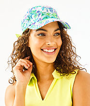Run Around Hat, Resort White Mermaid In The Shade Accessories Small, large
