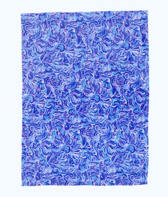 Paradise Blanket, Coastal Blue Whispurr, large 1