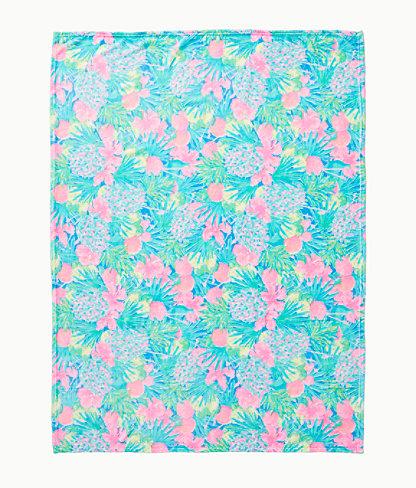 Paradise Fleece Blanket, Multi Swizzle In Blanket, large 1