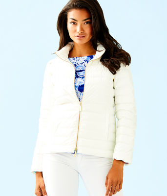 2 In 1 Haisley Puffer Jacket/Vest, Coconut, large