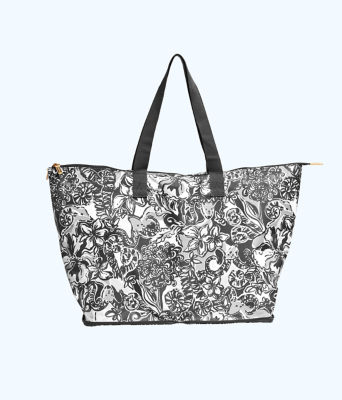 Getaway Packable Tote, Onyx With A Twist, large 0