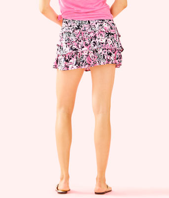 Luxletic Amira Skort, Hibiscus Pink Hangin With My Boo, large 1