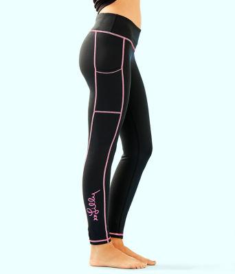 """UPF 50+ Luxletic 26"""" Weekender Legging, Onyx, large"""