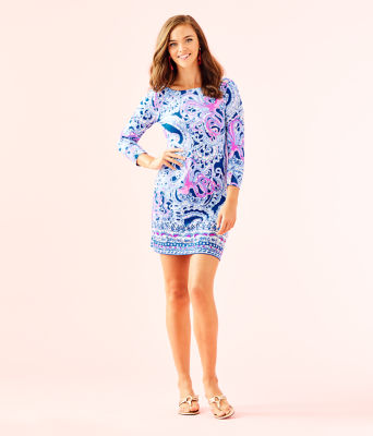 UPF 50+ Sophie Dress, Blue Grotto Legga Sea Engineered Sophie Dress, large 3