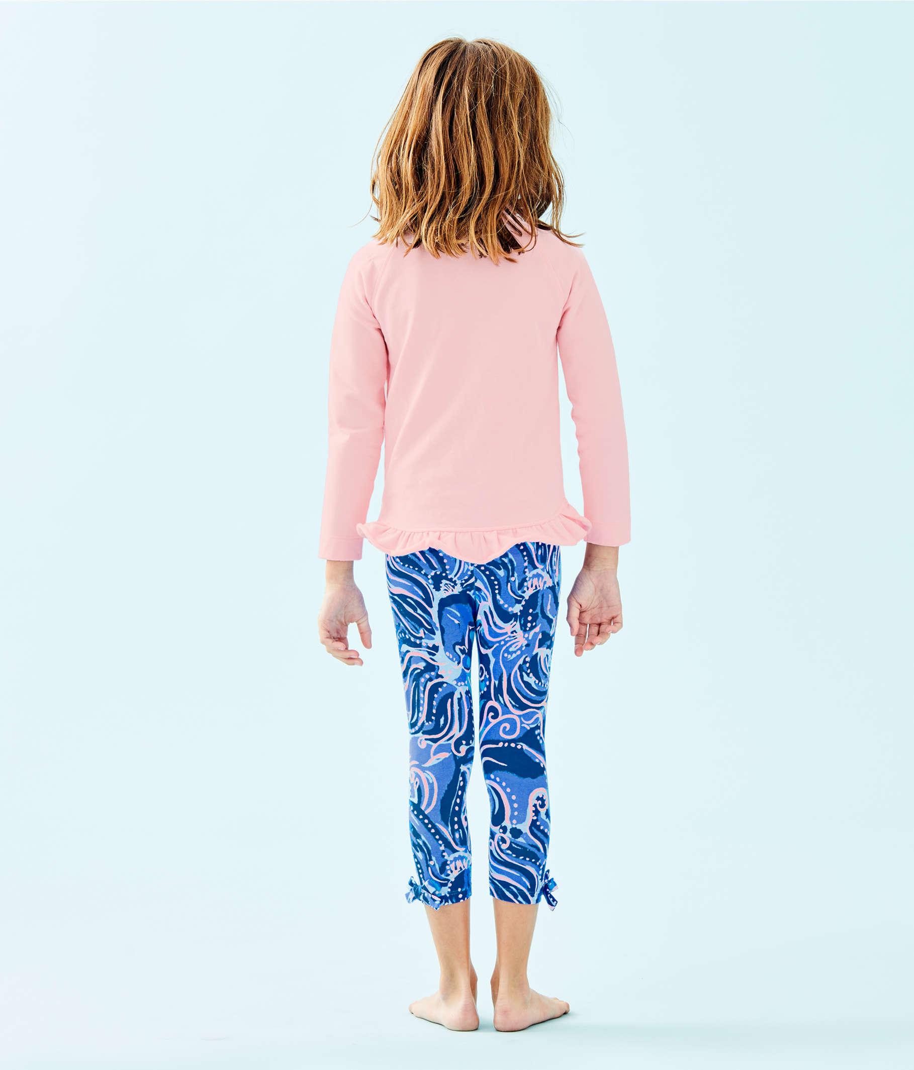 a6fd60f0d4a42 ... Girls Maia Legging, Coastal Blue Whispurr, large ...