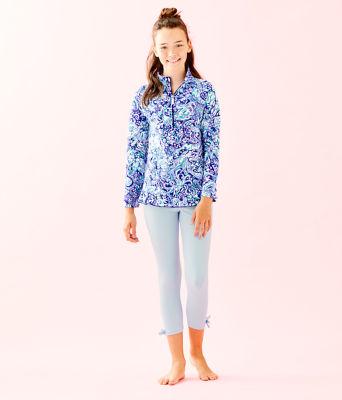 Girls Maia Legging, Crew Blue, large 0