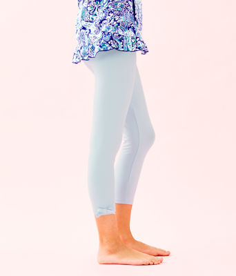 Girls Maia Legging, Crew Blue, large