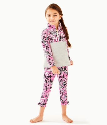 Girls Maia Legging, Hibiscus Pink Hangin With My Boo, large 0