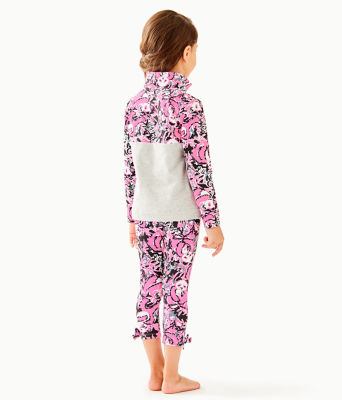 Girls Maia Legging, Hibiscus Pink Hangin With My Boo, large 1