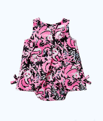 Baby Lilly Shift Dress, Hibiscus Pink Hangin With My Boo, large 1