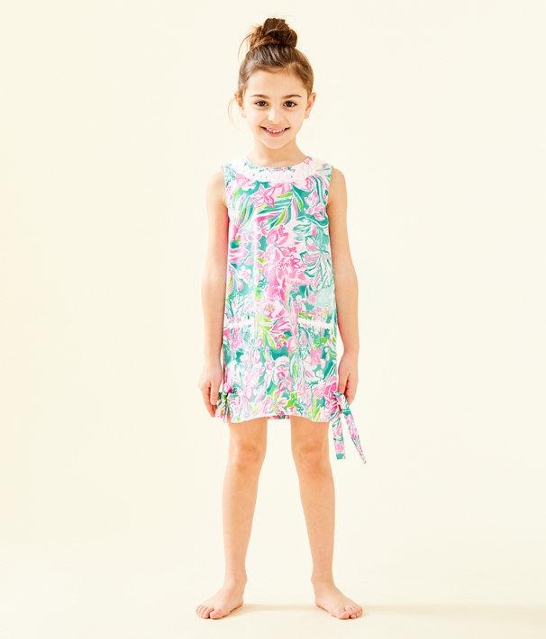 8663ca3681d3b5 ... Girls Little Lilly Classic Shift Dress, Multi Hot On The Scene, large  ...