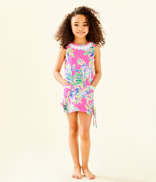 903d8d616e6522 ... Girls Little Lilly Classic Shift Dress, Multi Squeeze The Day, large ...