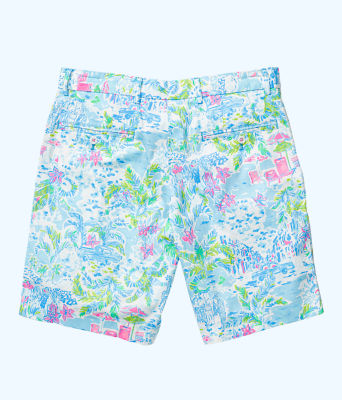 Mens Beaumont Short, Multi What A Lovely Place, large