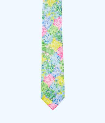 Mens Silk Tie, Multi Cheek To Cheek Tie, large 2