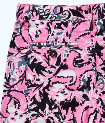 Boys Beaumont Short, Hibiscus Pink Hangin With My Boo, large 2