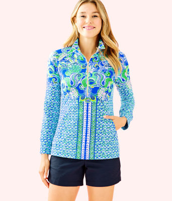 UPF 50+ Skipper Popover, Blue Grotto Sirens and Spirits Engineered Skipper, large 0