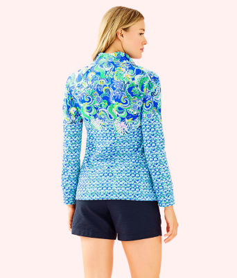 UPF 50+ Skipper Popover, Blue Grotto Sirens and Spirits Engineered Skipper, large 1