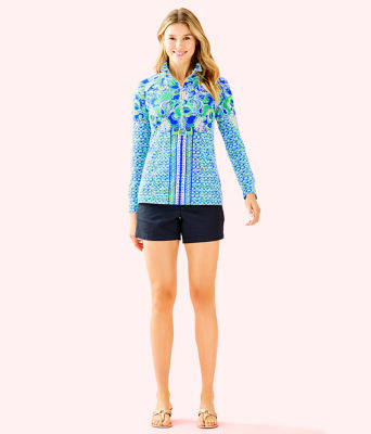 UPF 50+ Skipper Popover, Blue Grotto Sirens and Spirits Engineered Skipper, large 2