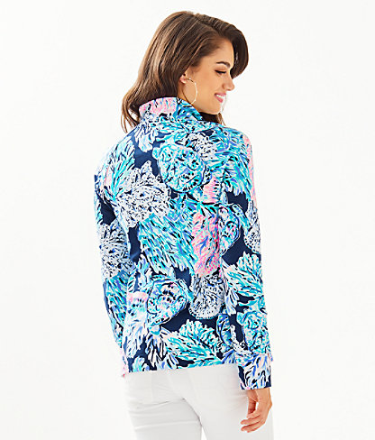 UPF 50+ Skipper Popover, High Tide Navy Party In Paradise, large 1