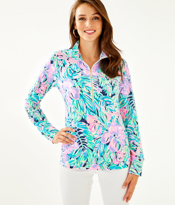 UPF 50+ Skipper Popover, Multi Bermudaful, large