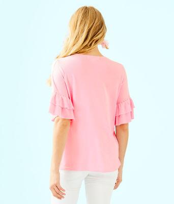 Kresta Coolmax Sweater, Heathered Pink Tropics Tint, large 1