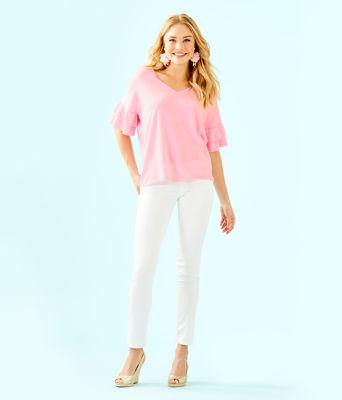 Kresta Coolmax Sweater, Heathered Pink Tropics Tint, large 2