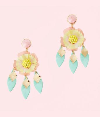 Garden Gem Statement Earrings, Multi, large 0