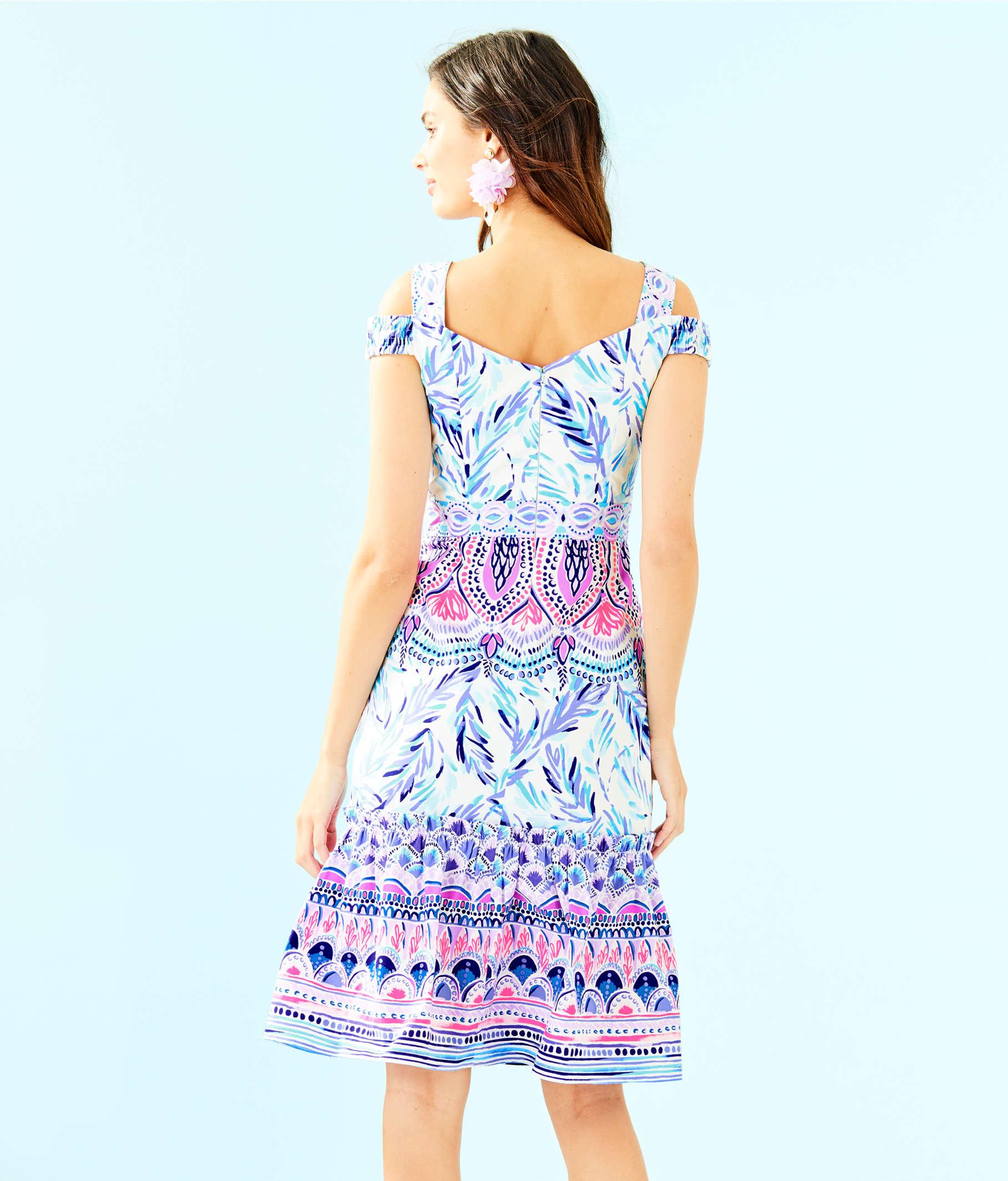2790844156e5 ... Iva Midi Dress, Resort White Flock Together Engineered Dress, large ...