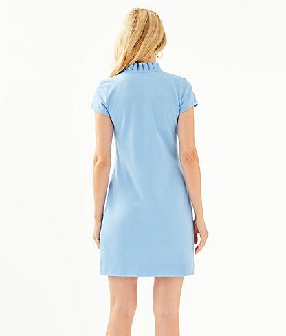 Clary Polo Dress, Blue Peri, large 1