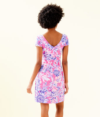 Winslow Dress, Pink Tropics Sun Drenched, large 1
