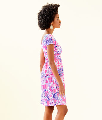Winslow Dress, Pink Tropics Sun Drenched, large 2