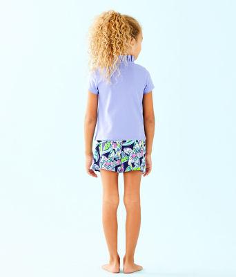 Girls Karla Skort, Bright Navy Sway This Way, large 1