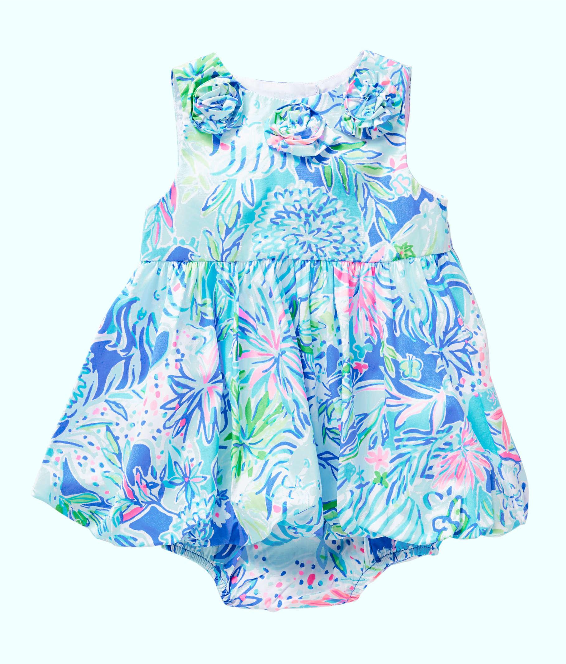 e80272a5d ... Baby Britta Bubble Dress, Coastal Blue Lion Around, large ...