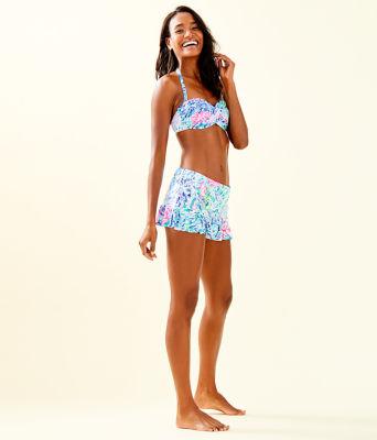 Cay Twist Bandeau Bikini Top, Multi Sink Or Swim, large 2