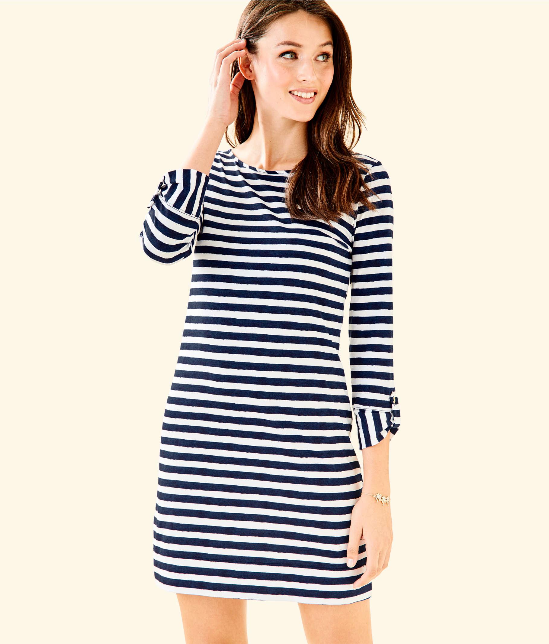adb3abed8c ... Marlowe Striped T-Shirt Dress